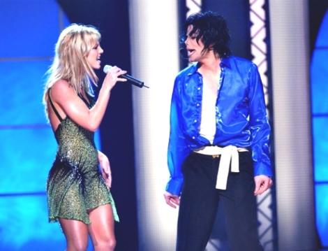 Britney e Michael no Aniversário de 30 anos de carreira do Rei
