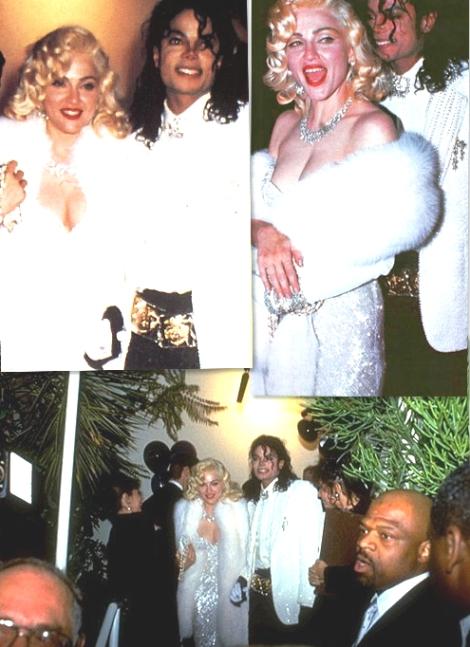 Madonna e Michael no Oscar em 1990
