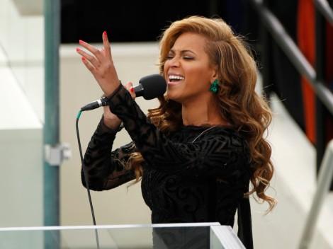 Beyoncé na Tomada de Posse de Barack Obama